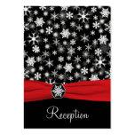 Tarjeta negra, blanca, roja del recinto de los cop plantillas de tarjeta de negocio