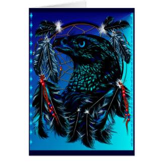 Tarjeta negra de Ealge Dreamcatcher