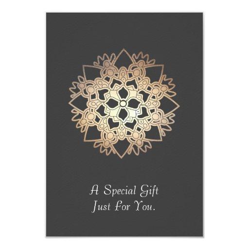 Tarjeta o invitación de regalo de los artes invitación 8,9 x 12,7 cm