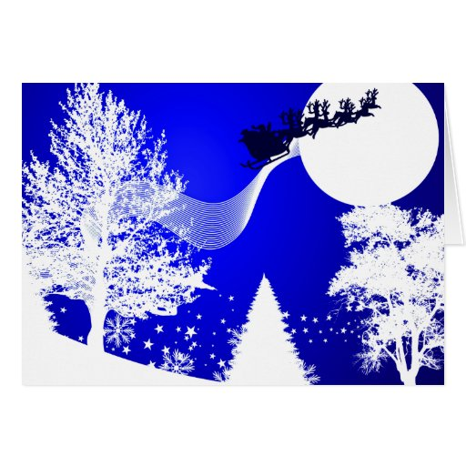Tarjeta o invitación: Navidad blanco