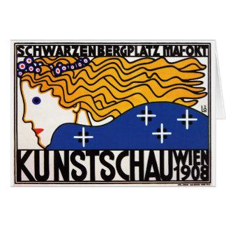 Tarjeta o Invitiation: Kunstschau Wien