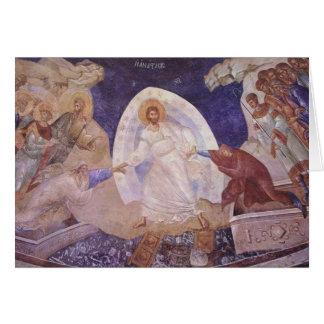 Tarjeta ortodoxa de Pascha/de pascua