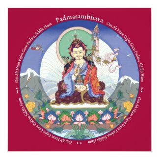 """TARJETA Padmasambhava - con el sobre Invitación 5.25"""" X 5.25"""""""