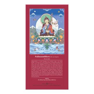 TARJETA Padmasambhava/Guru Rinpoche + explicación Tarjetas Personales