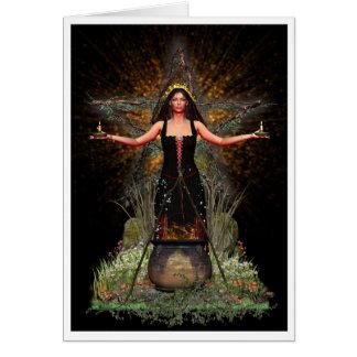 Tarjeta pagana - Spellweaver