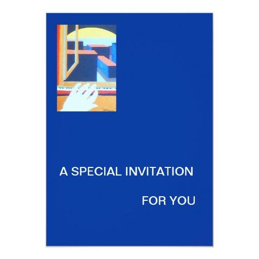 TARJETA PERSONAL DE LA INVITACIÓN