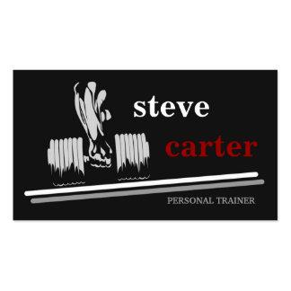 tarjeta personal profesional del instructor/del Bo