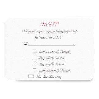 Tarjeta personalizada divertida de la invitación