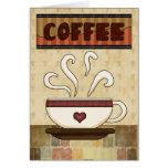 tarjeta personlized del café