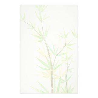 Tarjeta pintada de la acuarela con estilizado salv papelería de diseño