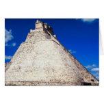 Tarjeta-Pirámide del mago - Uxmal, México