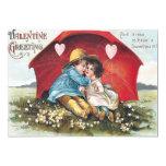 Tarjeta plana de la tarjeta del día de San Invitación 12,7 X 17,8 Cm
