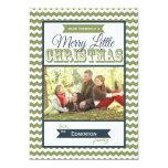 Tarjeta plana de los Felices pequeños Navidad de Comunicados