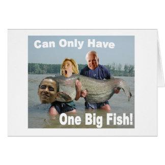 Tarjeta política de la pesca