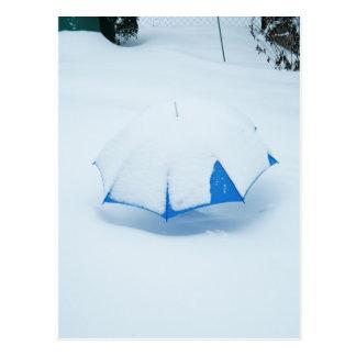 Tarjeta postal - Atrapado por la nieve II
