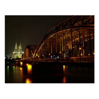 Tarjeta postal catedral De Colonia