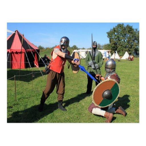 Tarjeta postal - en el medioevo II