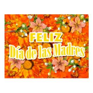 Tarjeta postal - Feliz Día de las Madres