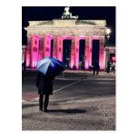 Tarjeta postal - festival of Lights Berlín 2011