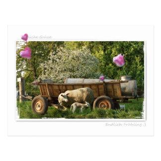 Tarjeta postal: La primavera Tarjetas Postales