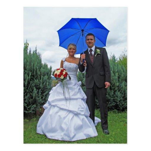 Tarjeta postal - padrino de boda