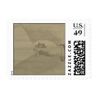 Tarjeta práctica sello