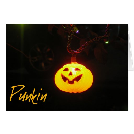 Tarjeta principal de Punkin