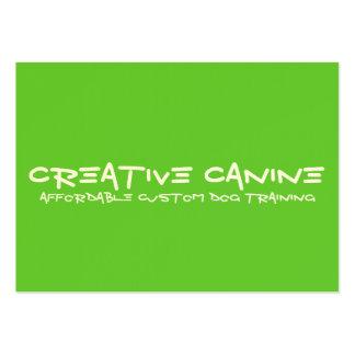 Tarjeta profesional del negocio y de publicidad tarjetas de visita grandes