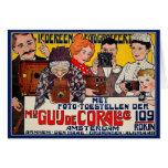 Tarjeta:  Publicidad de Affiche del vintage - cáma