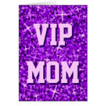 """Tarjeta púrpura día de madre"""" MAMÁ"""" del VIP del """"d"""