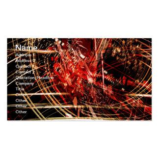 Tarjeta radical del arte 44 tarjetas de visita