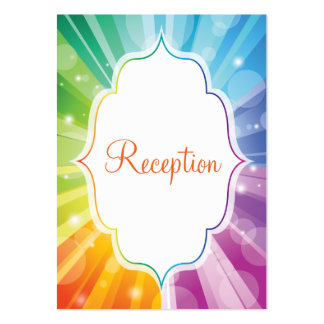 Tarjeta rayada del recinto de la recepción del res plantillas de tarjetas de visita