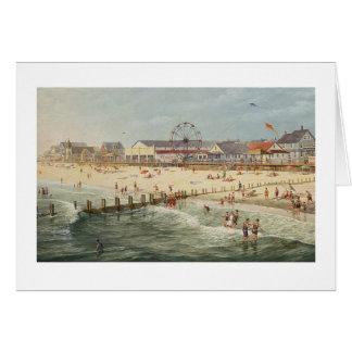 "Tarjeta ""Rehoboth de la playa vieja"" de Paul McGeh"