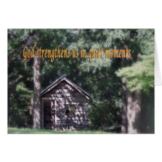 Tarjeta religiosa de Encourgement