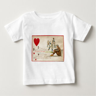 Tarjeta retra de la tarjeta del día de San Tee Shirt