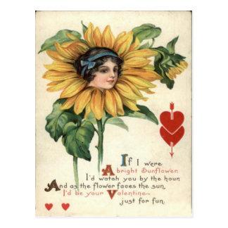 Tarjeta retra de la tarjeta del día de San Postales
