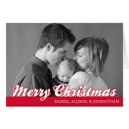 Tarjeta retra de las Felices Navidad de la escritu