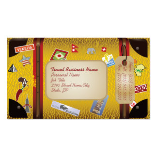 Tarjeta retra del negocio de representación del vi plantillas de tarjetas de visita