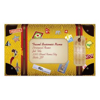 Tarjeta retra del negocio de representación del vi tarjetas de visita