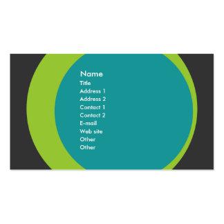 Tarjeta retra moderna del perfil del negocio/del e tarjetas de visita