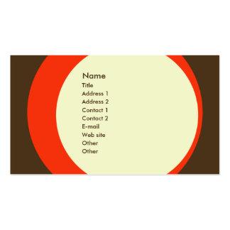 Tarjeta retra moderna del perfil del negocio/del tarjetas de visita