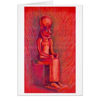 Tarjeta roja de Sekhmet