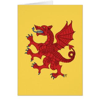 Tarjeta (roja) desenfrenada del dragón
