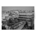 Tarjeta romana de Colosseum