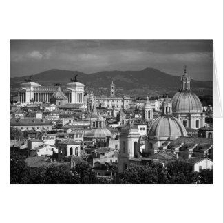 Tarjeta romana del horizonte