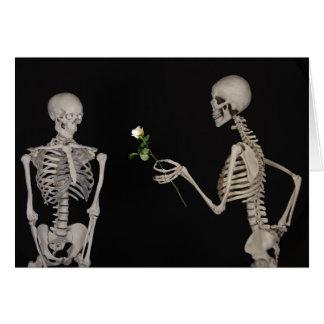 tarjeta romántica de la tarjeta del día de San