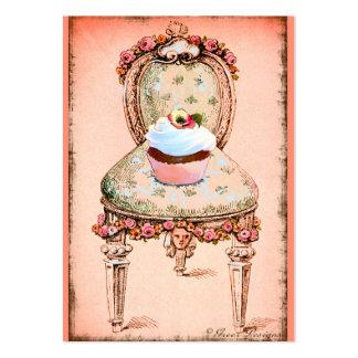 Tarjeta rosada del perfil del negocio de la panade plantilla de tarjeta personal