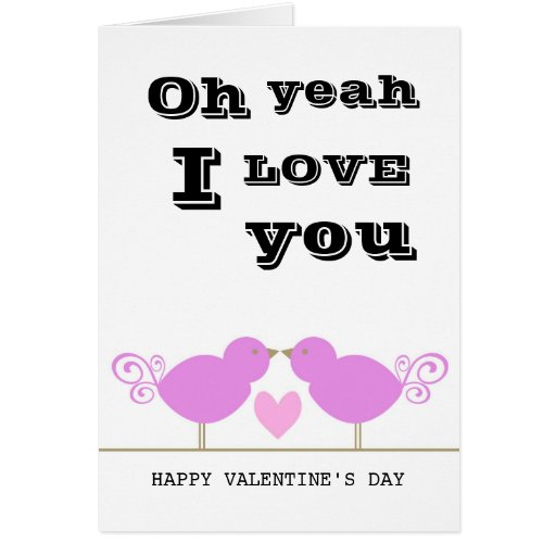 Tarjeta rosada linda del día de San Valentín de lo