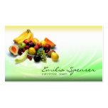 Tarjeta sana de la vida/de la dieta de la pendient tarjeta personal