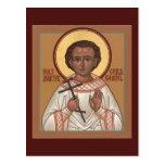 Tarjeta santa del rezo de Gabriel del mártir del Postal